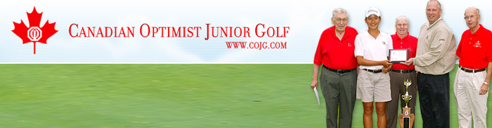 Canadian Optimist Junior Golf